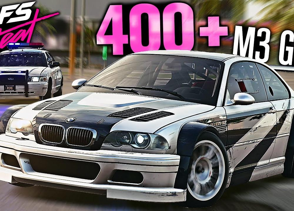 Need for Speed HEAT - BMW M3 GTR Most Wanted Pursuit! (400+ HEAT 5 ...