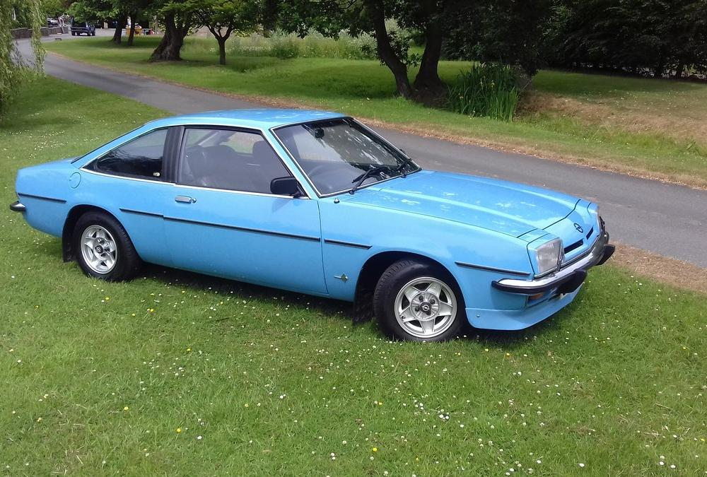 1977 OPEL MANTA B SR COUPE FOR SALE. For Sale | Car And Classic