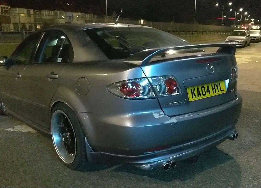 Mazda speed 6 2004 project/daily driver #UKTunedIn - YouTube