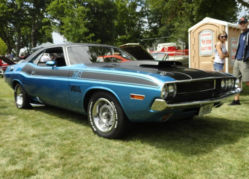 1970 Dodge Challenger T/A Trans Am 340 Six Pak - My Car Story with ...
