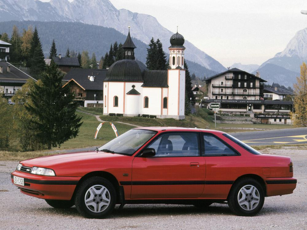 Mazda 626 Coupe (GD) '1987–92
