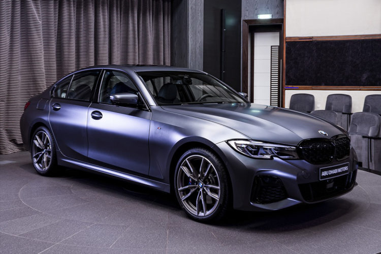 BMW M340i First Edition: G20 mit 374 PS in Frozen Dark Grey