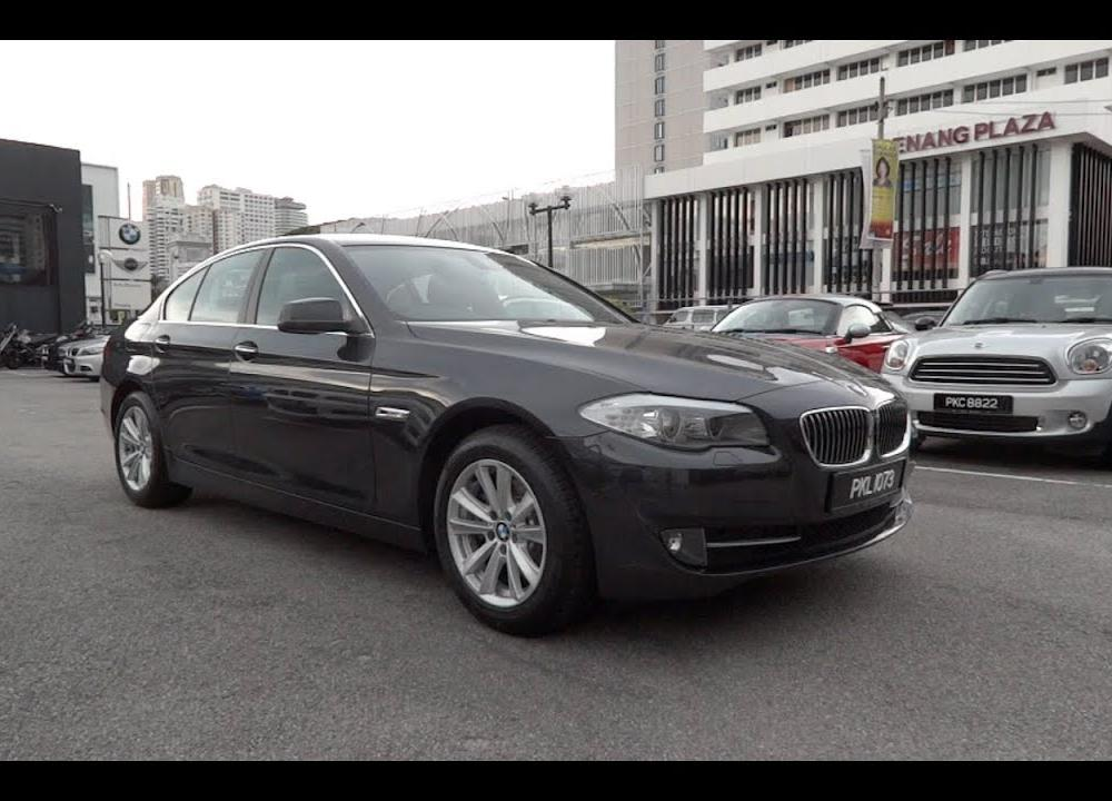 2012 BMW 520d Start-Up and Full Vehicle Tour - YouTube