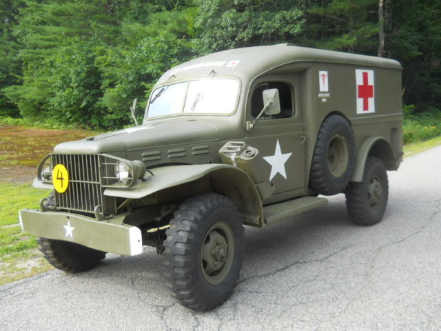 1942 Dodge WC54 T214 3/4 Ton US Army Ambulance Military Vehicle ...