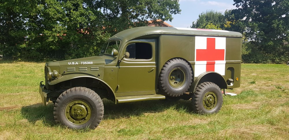 Dodge WC54 Ambulance 1944