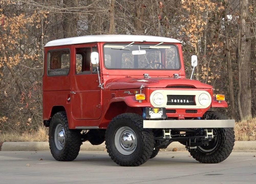 1972 Toyota Land Cruiser FJ40 SOLD / 136082 - YouTube