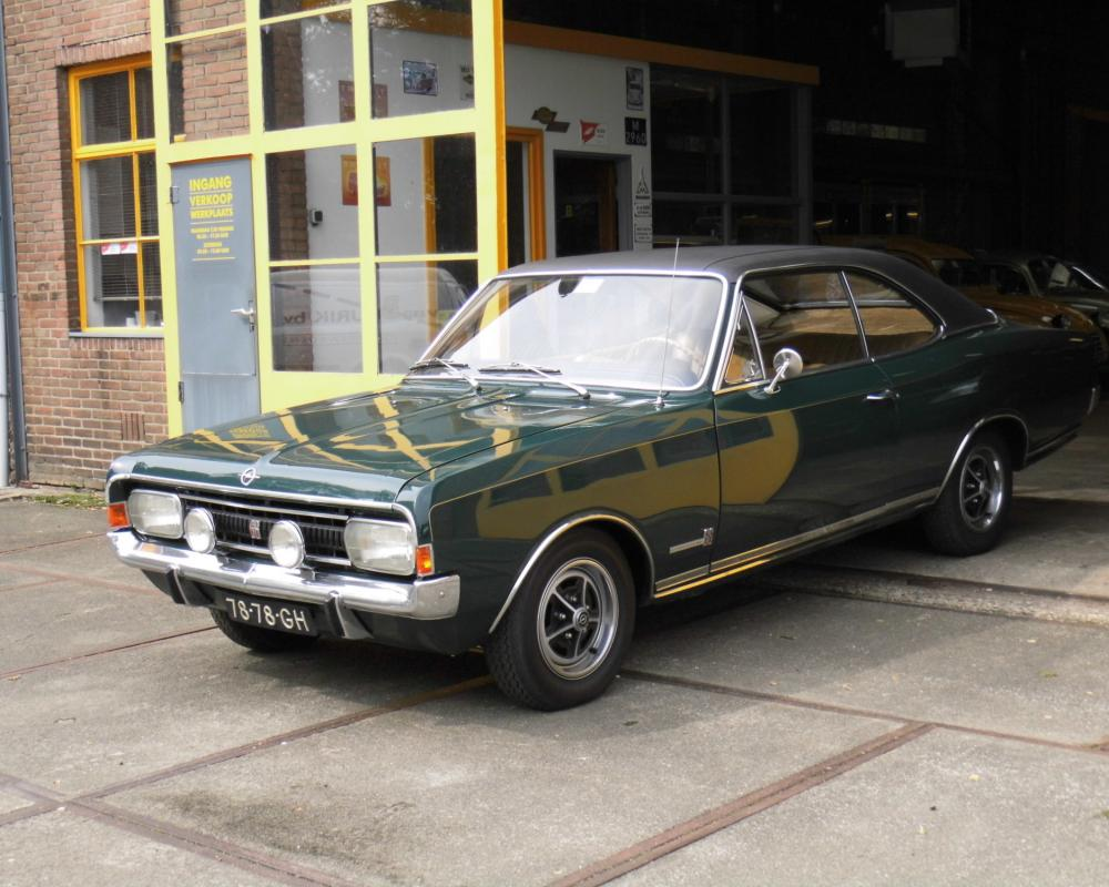 Opel Commodore GS - a very beautiful Commodore, Evergreen, Opel