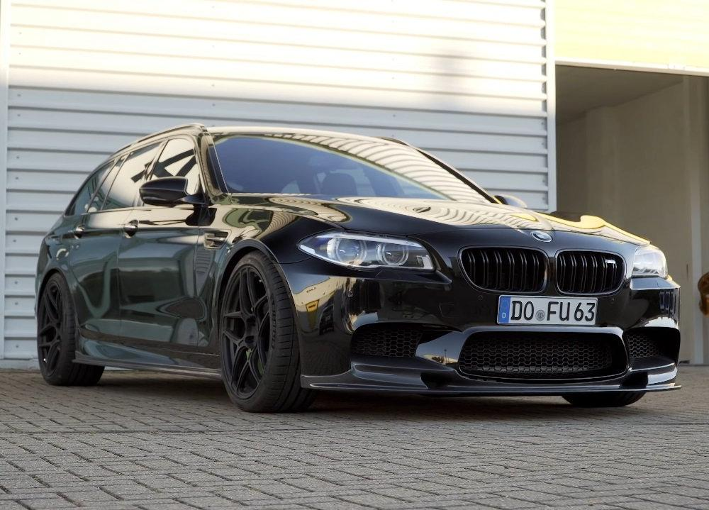 Video: This Is the F11 BMW M5 Touring the Germans Never Made