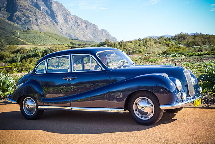 Collection in action: BMW 502 - Franschhoek Motor Museum