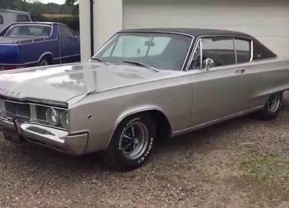 1968 Dodge Polara 318 Hardtop Coupe : Preview video - YouTube