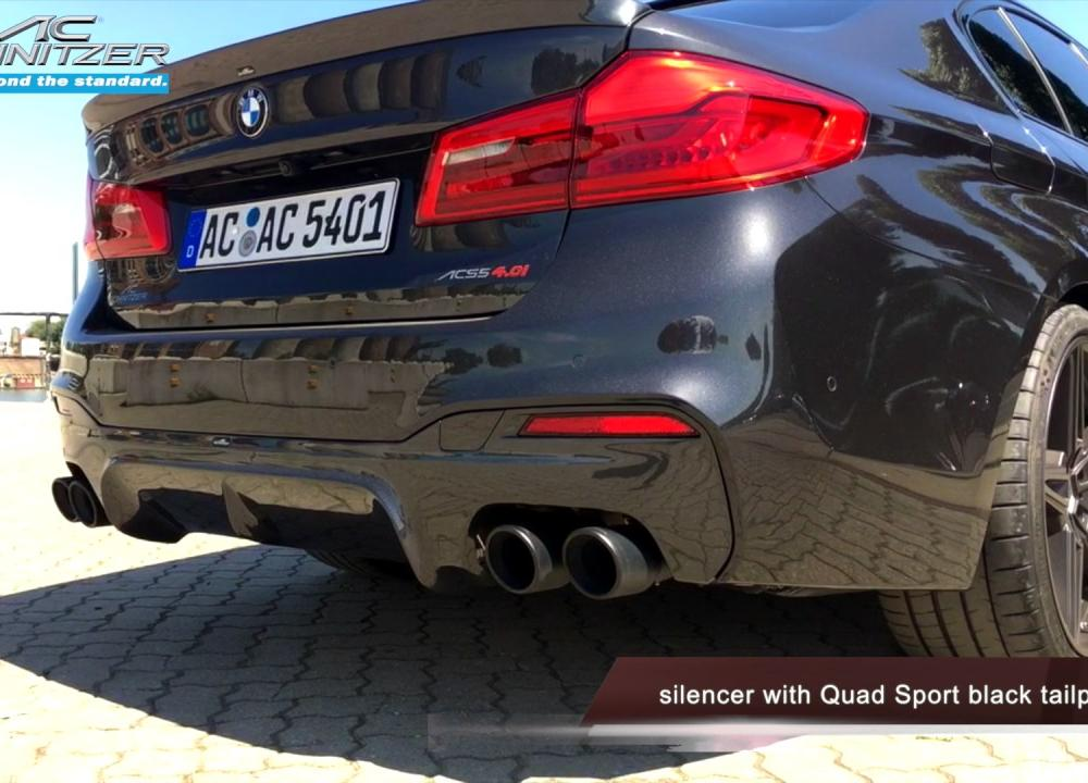 BMW 5er G30 by AC Schnitzer - YouTube