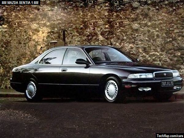 Mazda Sentia. Photo. Car Specifications. Automobile modifications.