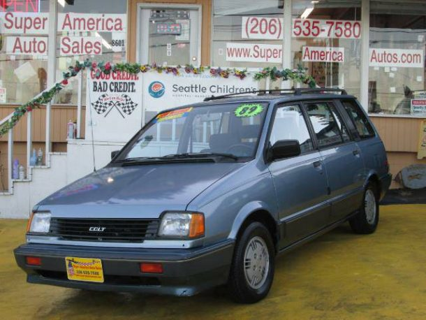 Rare Rides: The Colt Vista from 1989 – a Handy Captive Import MPV