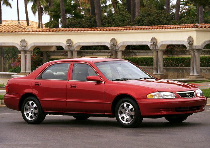 2002 Mazda 626 LX 4dr Sedan Specs and Prices
