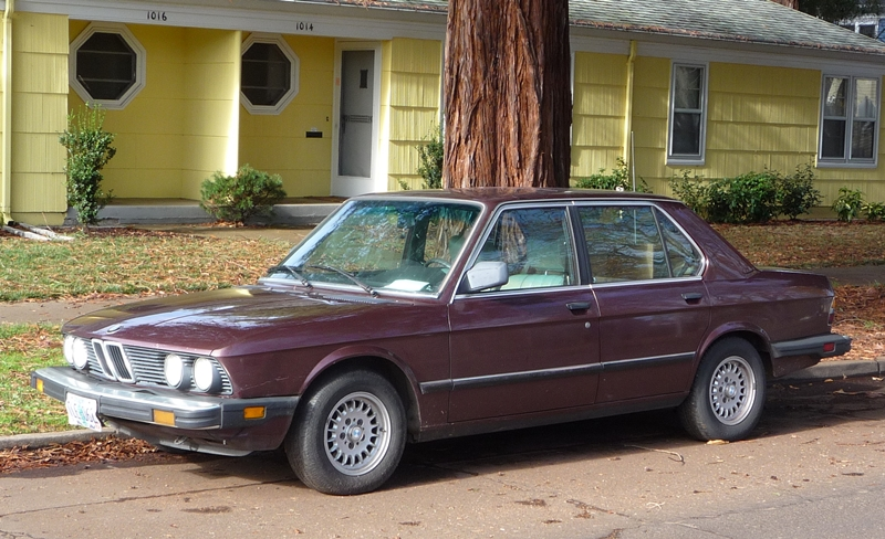 Curbside Classic: 1984 BMW 528e – The Low Rev Modest Driving ...
