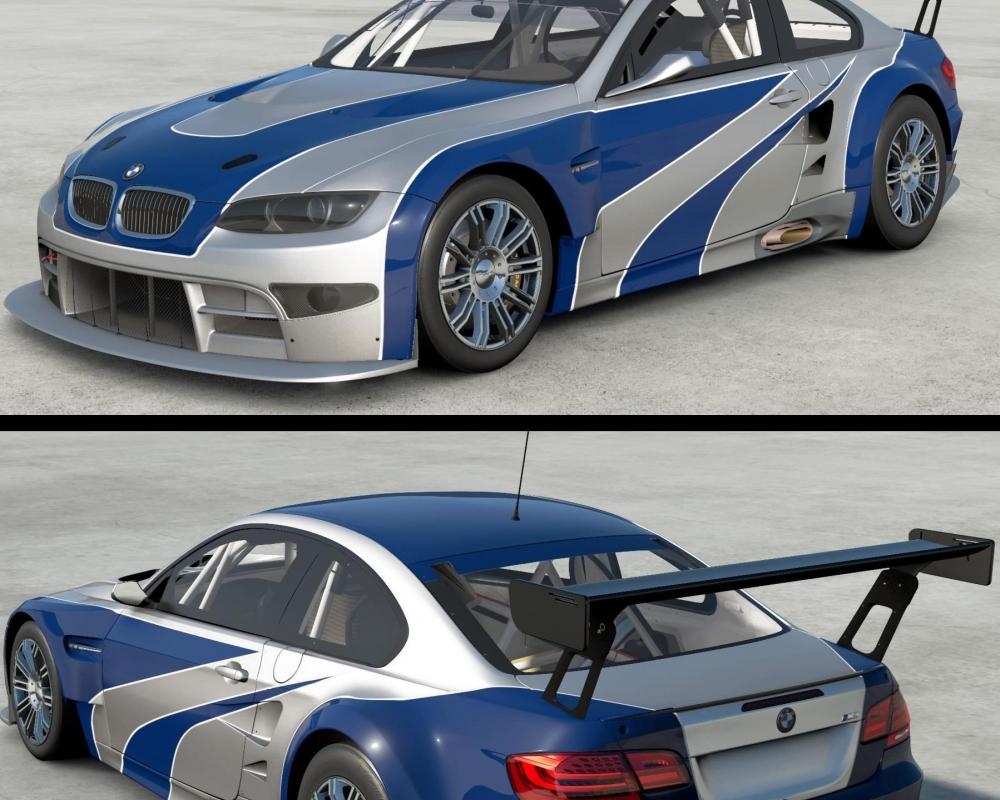 NFS BMW M3 GTR e46 tribute, detailed as can I can get. : granturismo