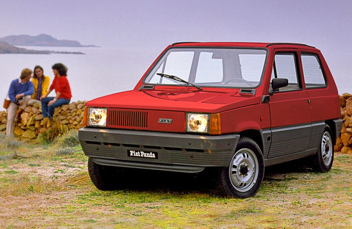 Italy celebrates 40 years of Fiat Panda - Wanted in Milan