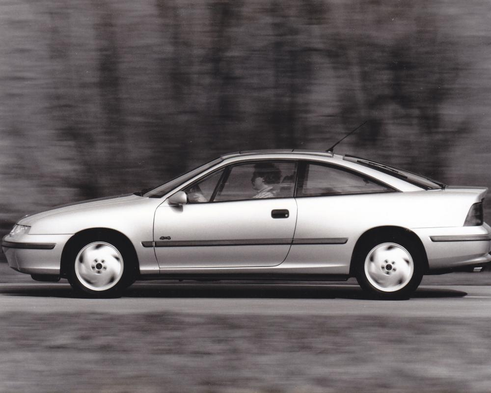 Opel Calibra Turbo 4x4 (10/92) | Nostalgie