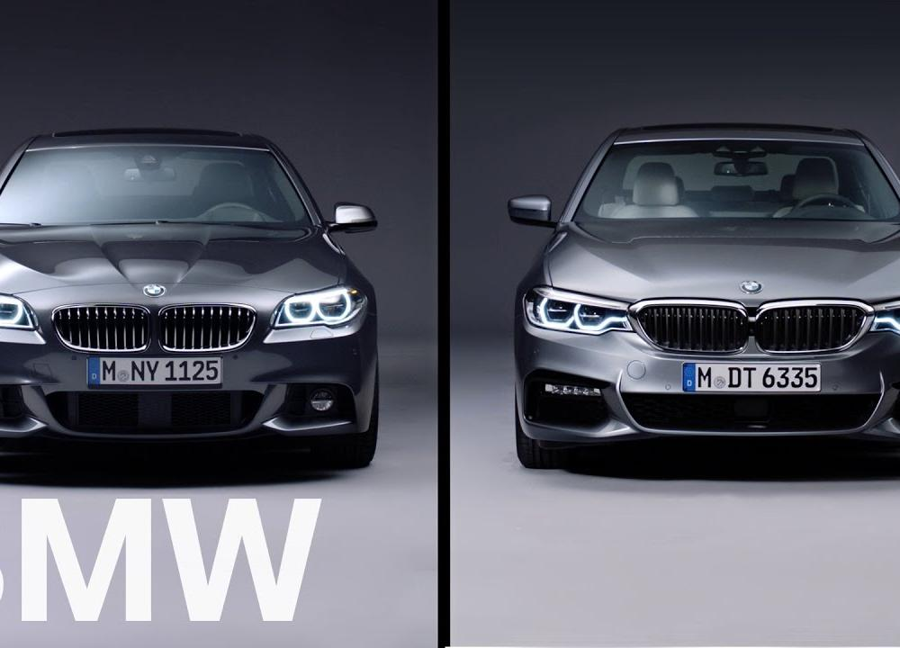 THE BMW 5 SERIES. 6TH VS 7TH GENERATION. - Bavaria Film Interactive