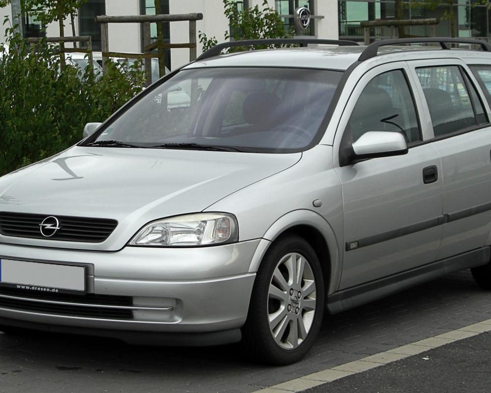 Datei:Opel Astra Caravan 1.6 16V Selection (G) – Frontansicht, 28 ...