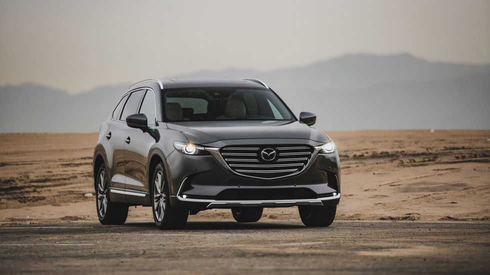 2019 Mazda CX-9 is the supermodel among three-row, midsize ...