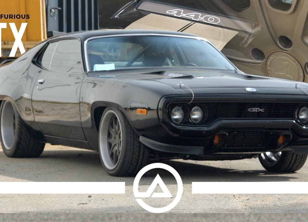 Fast & Furious 8 Plymouth GTX | Fate of the Furious Mopar - YouTube