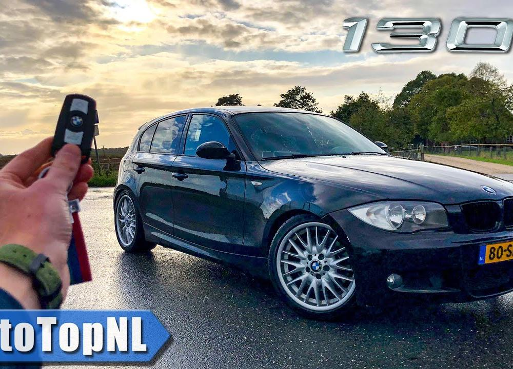 BMW 1 Series E87 130i REVIEW on AUTOBAHN (No Speed Limit) & ROAD ...