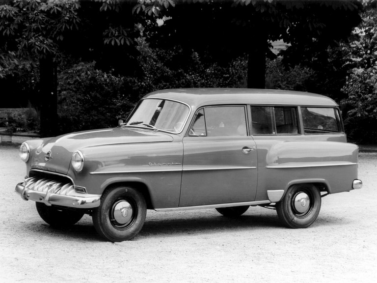 1953 Opel Olympia caravan - Free high resolution car images