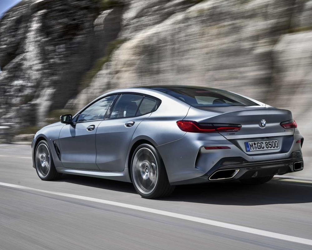 The new BMW 8 Series Gran Coupe.