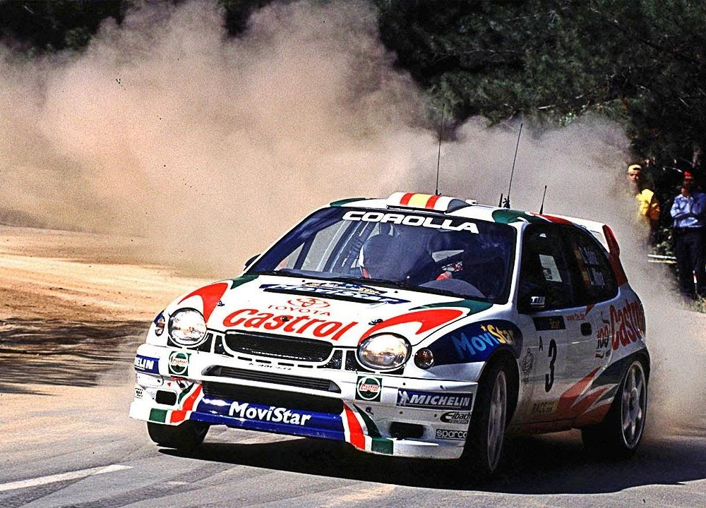 Toyota Corolla WRC tarmac action - with pure engine sounds - YouTube