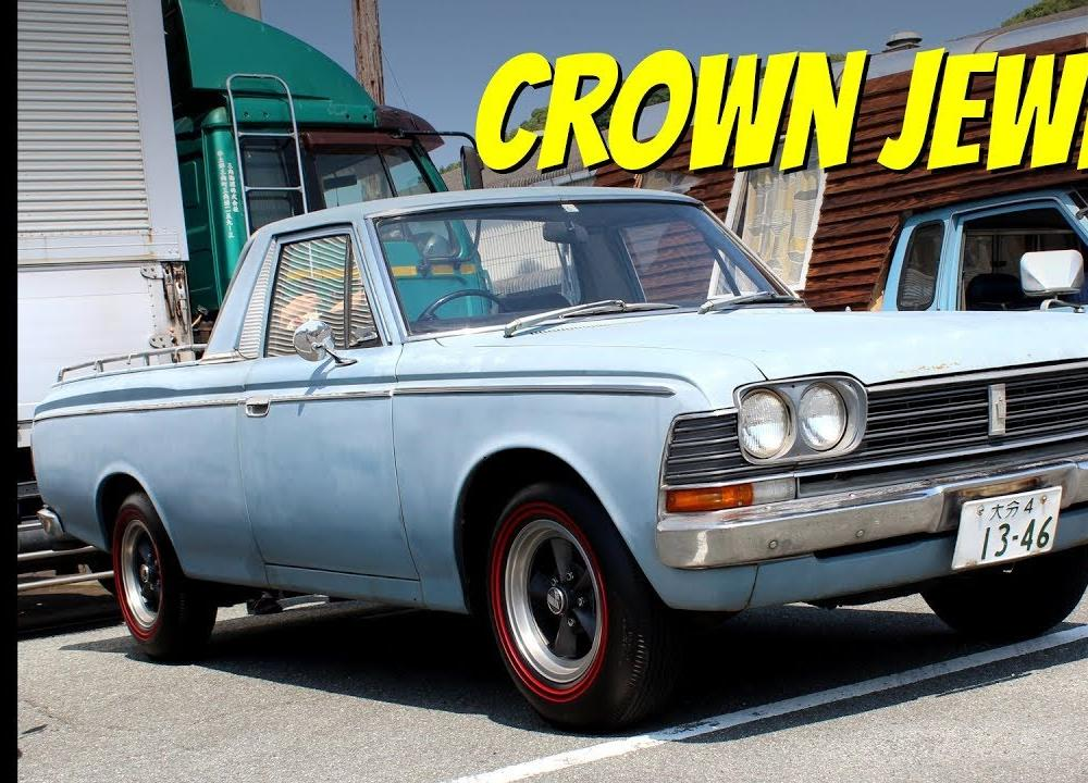 Daily Driven, Old-School JDM: 1968 Toyota Crown Pickup (RS56 ...