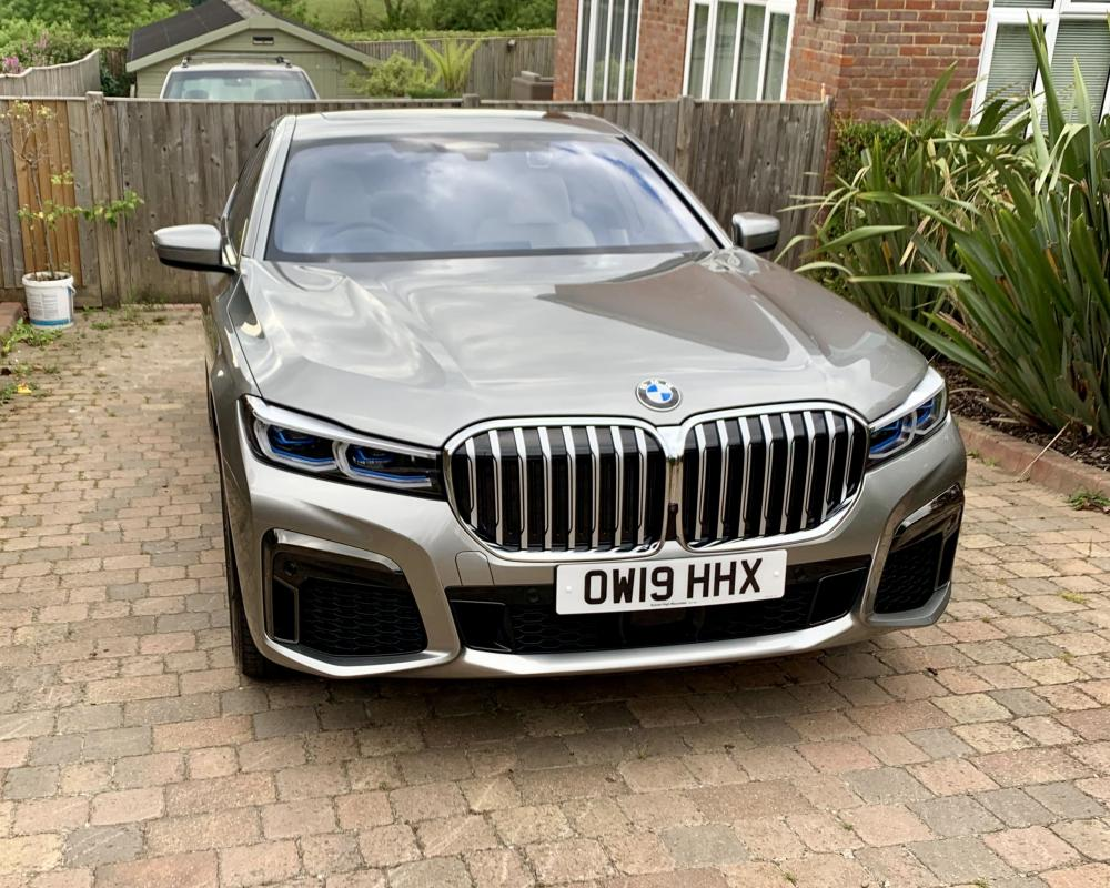 BMW 7 Series LCI Individual - Donnington Grey (With images) | Bmw ...