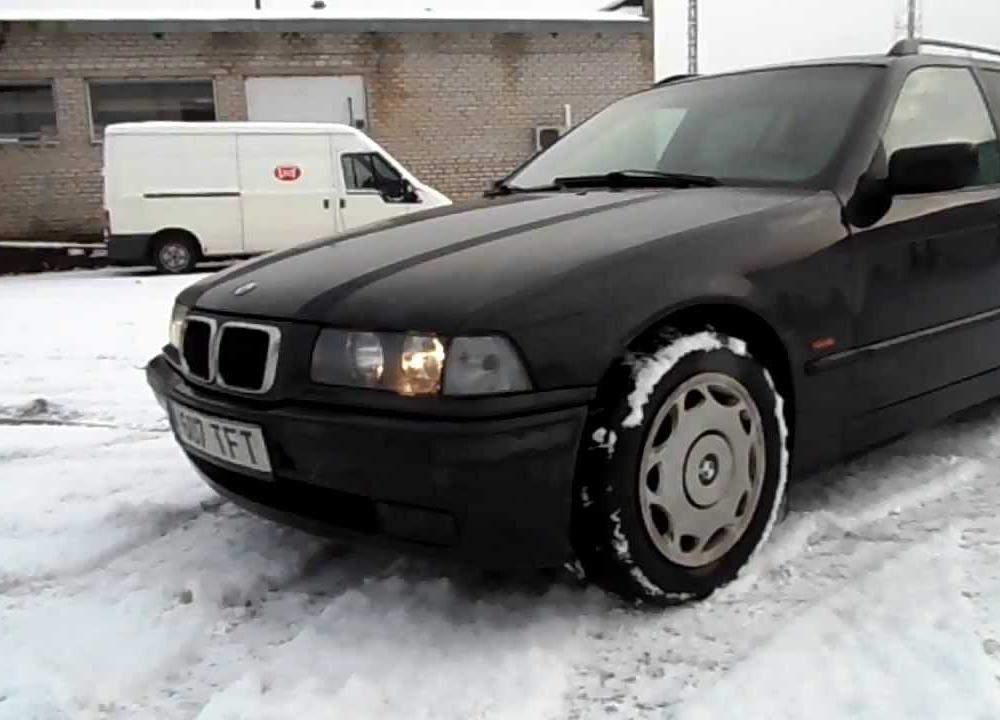 My cars: 1997 BMW 318 TDS e36 touring / sold - YouTube