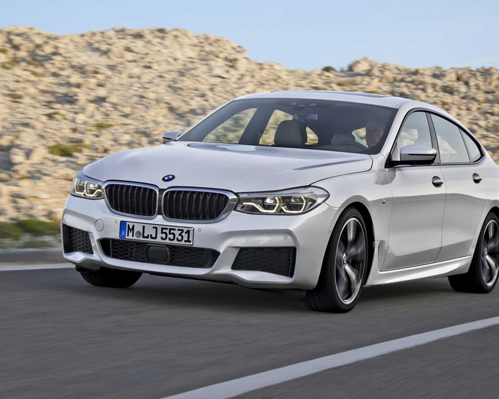 The new BMW 6 Series Gran Turismo.