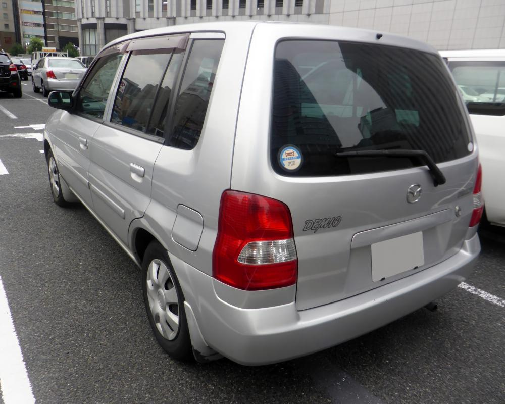 File:Mazda DEMIO L (DW3W) rear.JPG - Wikimedia Commons