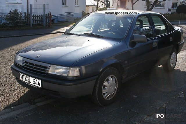 1990 Opel Vectra GL - Car Photo and Specs