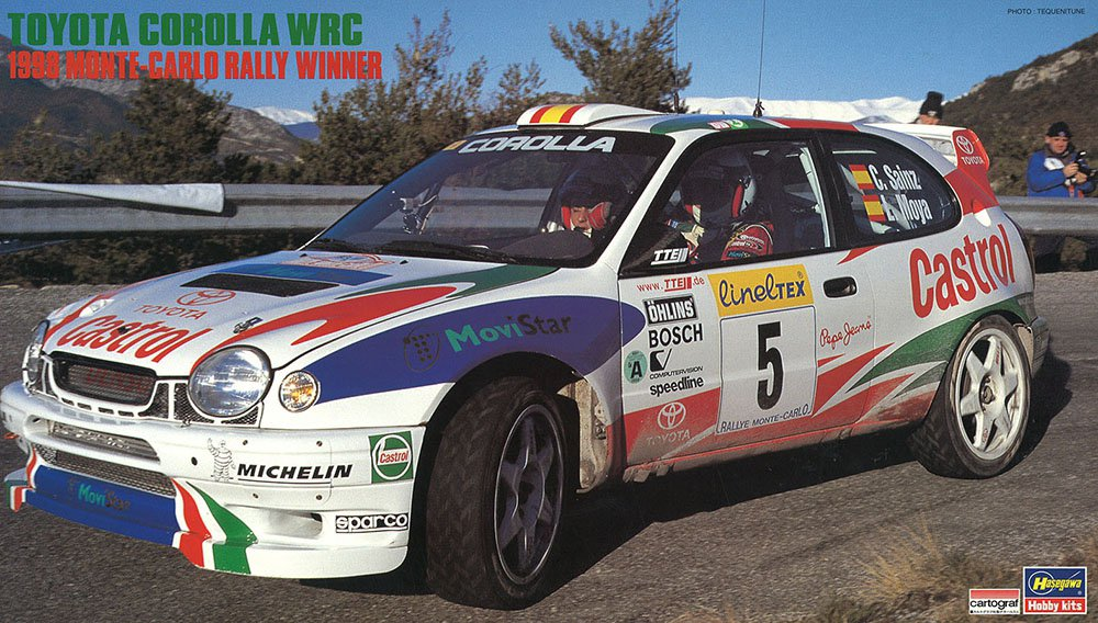 Toyota Corolla WRC 1998 Monte Carlo Rally Winner Limited Edition ...