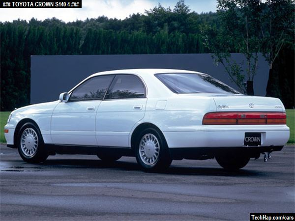 Toyota Crown S140. Photo. Car Specifications. Automobile ...