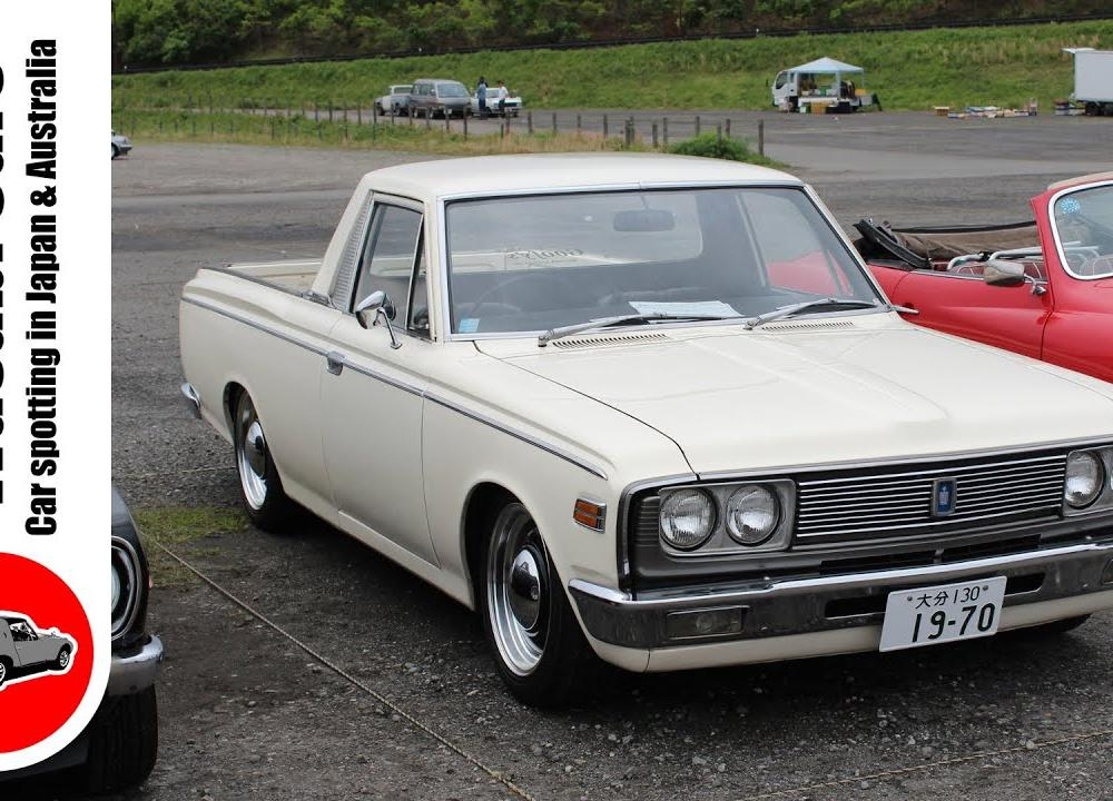 Mooneyes Built: 1JZ Powered 1970 Toyota Crown Pickup - MS56 - YouTube