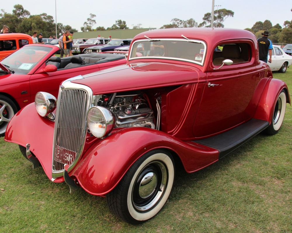 TAYLORMADE MADMAN — 34 Ford 3 Window Coupe in 2020 | 1932 ford ...