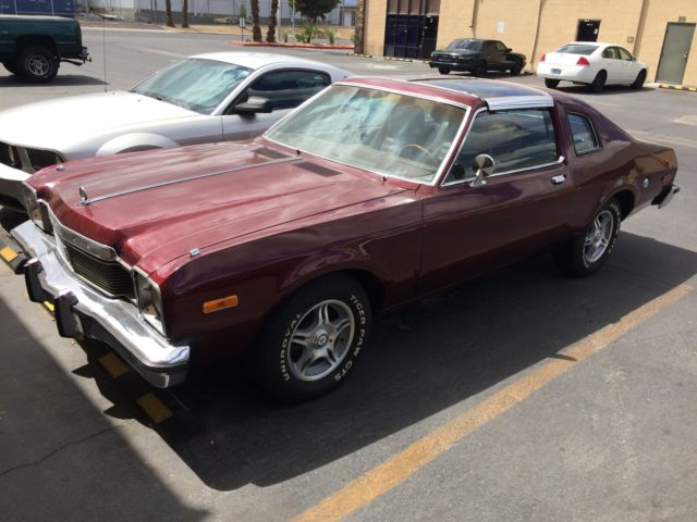1977 Dodge Aspen Special Edition Coupe 2-Door 5.2L for sale in Las ...