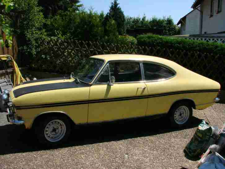 Opel Kadett B Coupe F Ralley - Topseller Oldtimer Car Group.