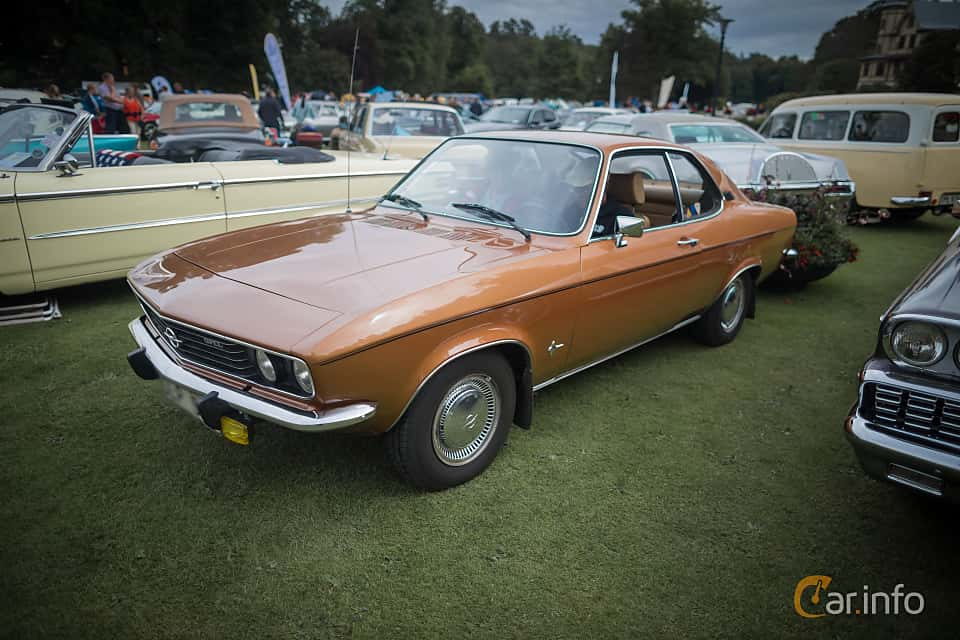 Opel Manta generation A 1.9 Automatic, 3-speed