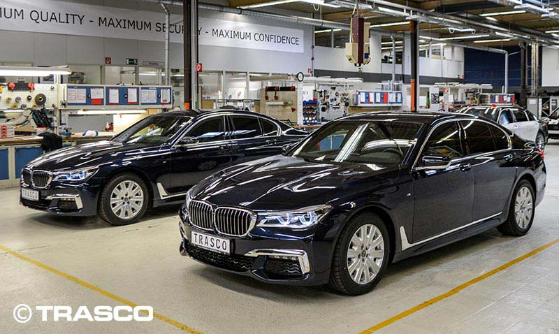 based on BMW 7 Series - Trasco-Bremen