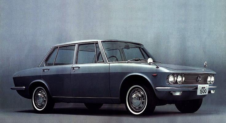 Remembering Mazda 1500 Sedan from the 1960s - CarSpiritPK