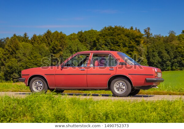 Germany August 11 2019 Opel Ascona Stock Photo (Edit Now) 1490752373