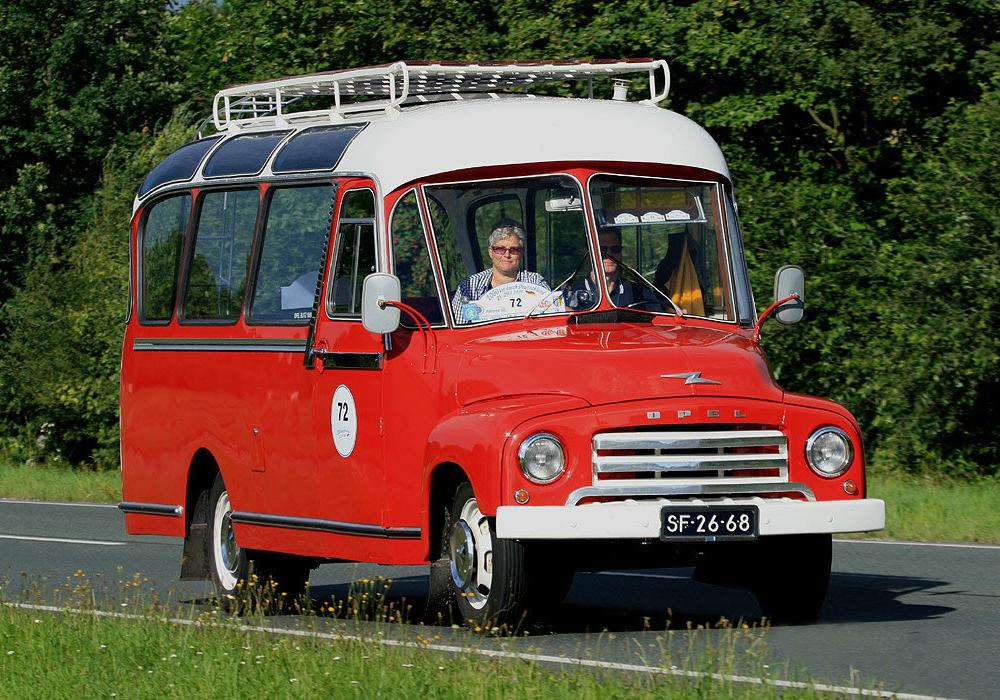 Opel Blitz Panoramabus – Germany