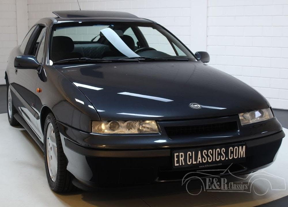 Opel Calibra 2.0 16V Turbo 4x4 1992 18.983 km Unique -VIDEO- www ...