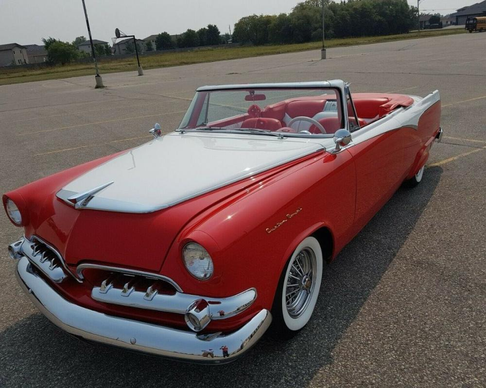 ULTRA RARE ! 1955 1/2 Dodge Custom Royal Lancer Convertible ! ONE ...
