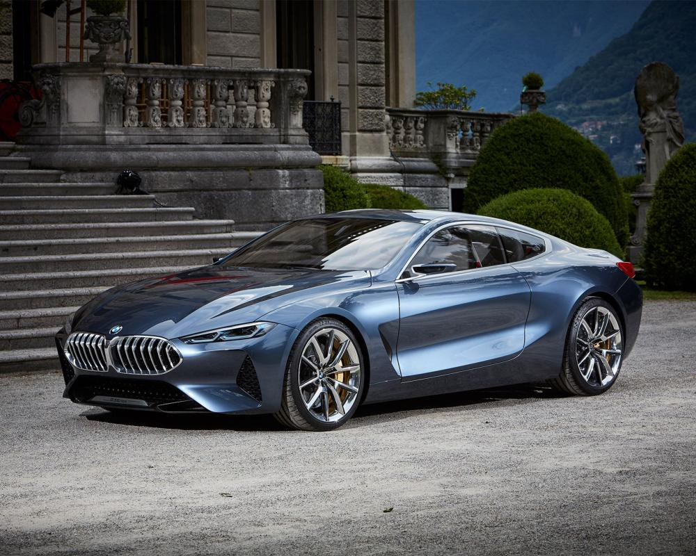 Exclusive: BMW 8 Series Concept Quick Drive | Bmw, Luxury hybrid ...